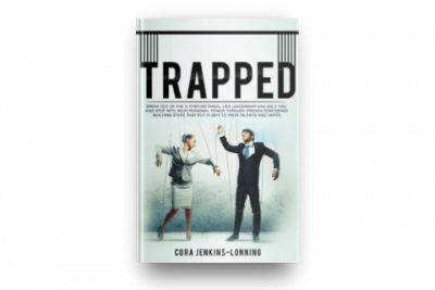Power Up! Trapped Book Cover